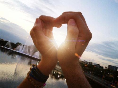 ¡El amor crece y madura cuando brilla en él la pureza!