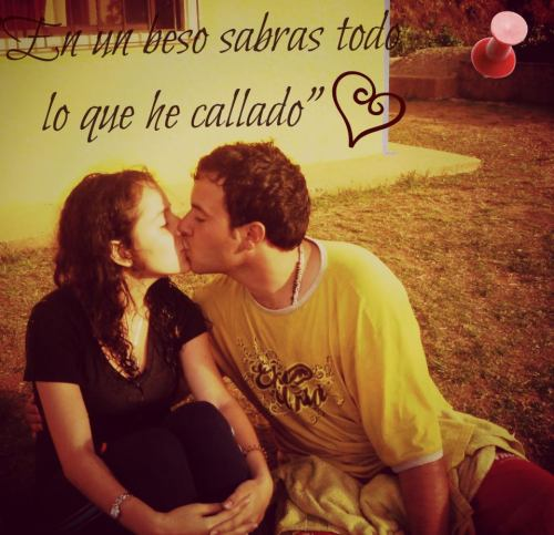 Tambien los besos deben ser puros en una relacion de enamorados...