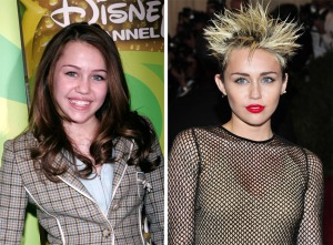 Miley, antes y ahora...