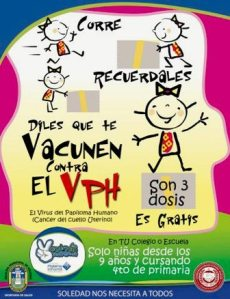 afiche-dela-vacuna-vph a niñas