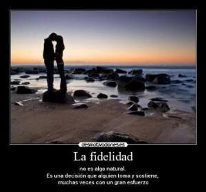 fidelidad es decision
