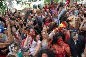 Zombies de película y zombies de verdad